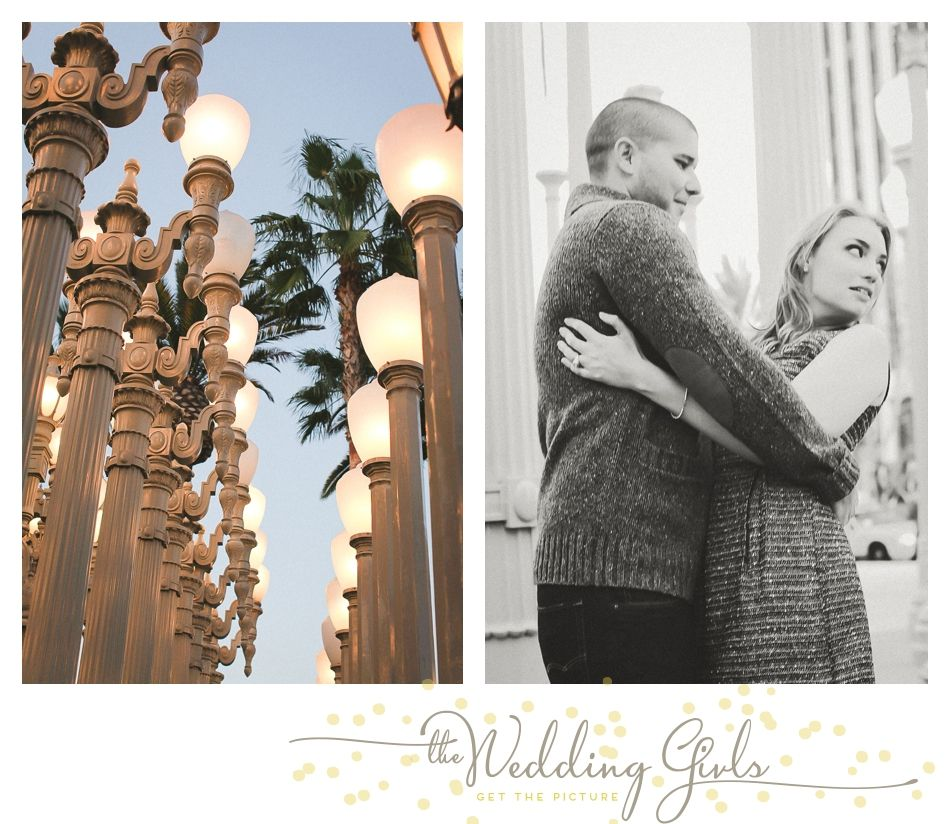 Los Angeles Engagement Session at LACMA - The Wedding Girls