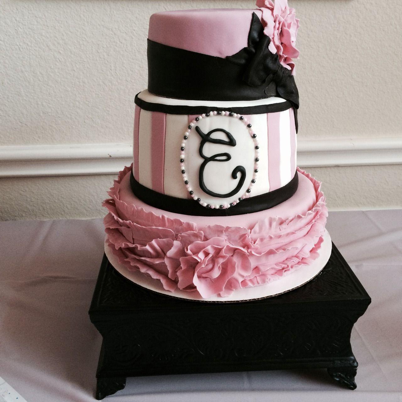 My Princess Birthday Cake Paris Theme Specialty Cake Little - Birthday cake paris