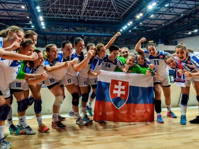 Osemfinále - Slovensko - Nórsko