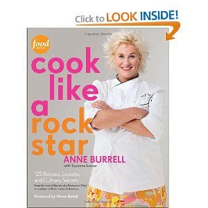 Anne Burrell's career is really taking off.  Check out her Cook Like a Rock Star cookbook.