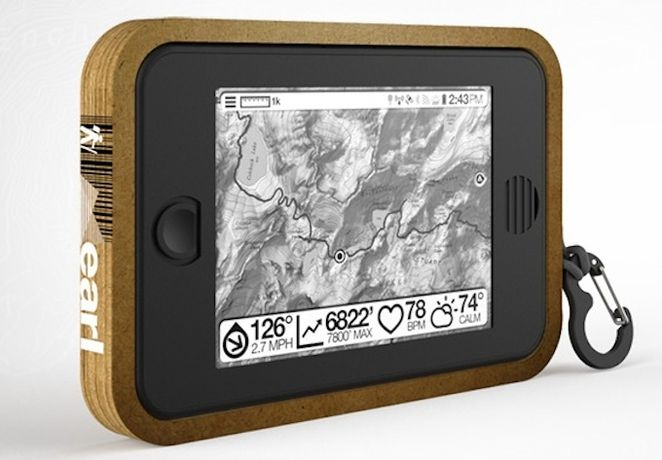 Meet Earl, your solar-powered backcountry survival tablet