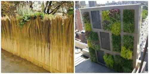 cl tures de jardin en 59 id es captivantes cl tures de jardin brise vue et brise. Black Bedroom Furniture Sets. Home Design Ideas