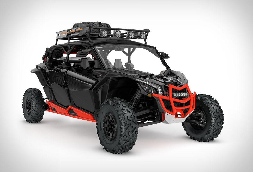 Can-Am Maverick X3 Max | offroad | Can am atv, Motorcycle camping