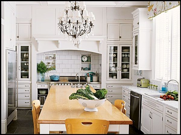 Im not usually a fan, but i like this white kitchen