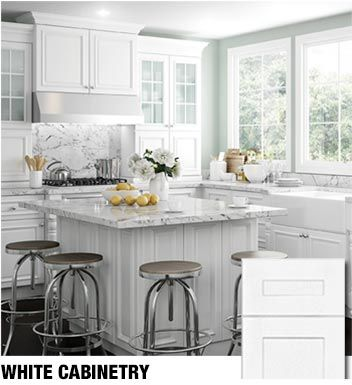Joyceu0027s Black U0026 White Kitchen | Kitchens, White Cabinets And White Cabinet  Kitchen