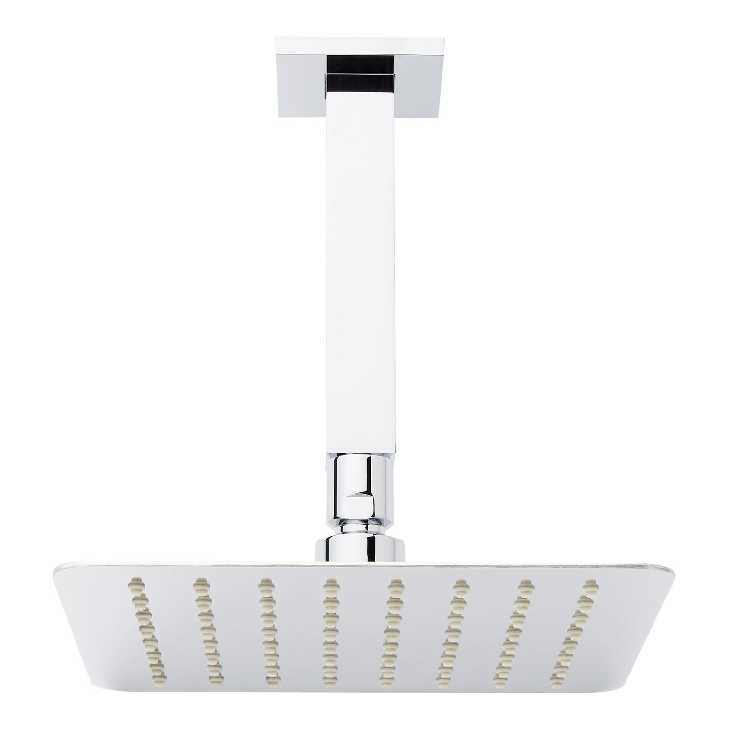 8 modern square rainfall shower head with 6 square
