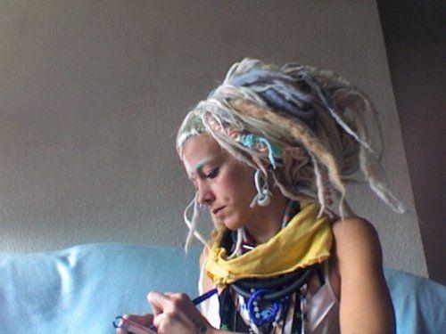 pastel dreads