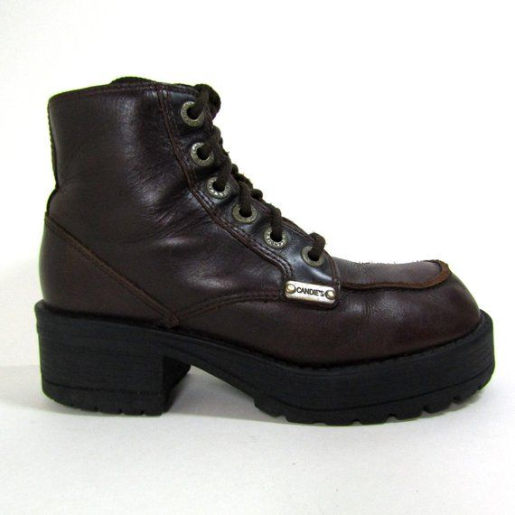 f4286dd66b1 sz 7 | 90s Candies boots chunky combat boots chunky 90s boots 90s ...