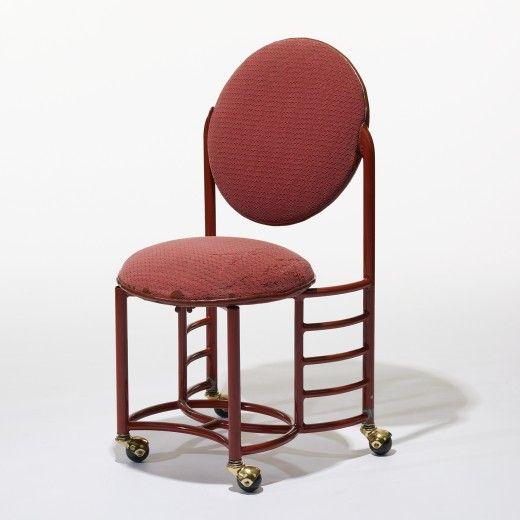247: Frank Lloyd Wright / Chair From The Johnson Wax Building, Racine,  Wisconsin