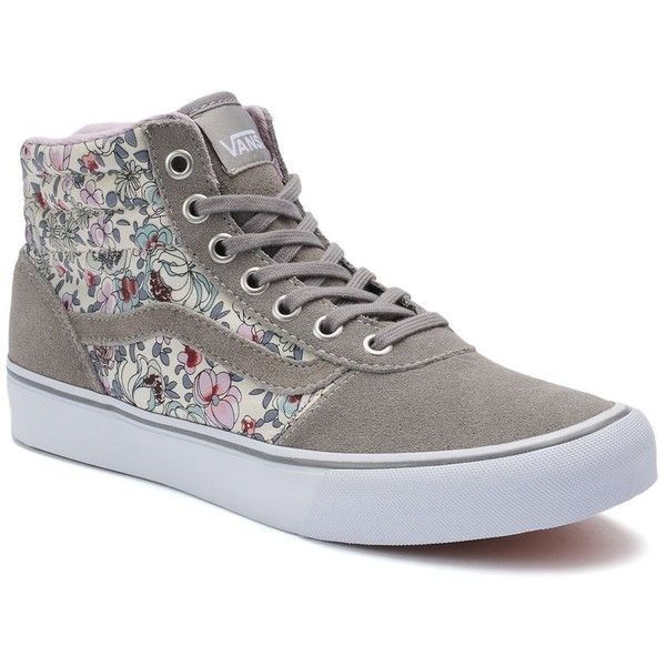a3fead7086 Vans Milton Women s High-Top Skate Shoes ( 60) ❤ liked on Polyvore  featuring shoes