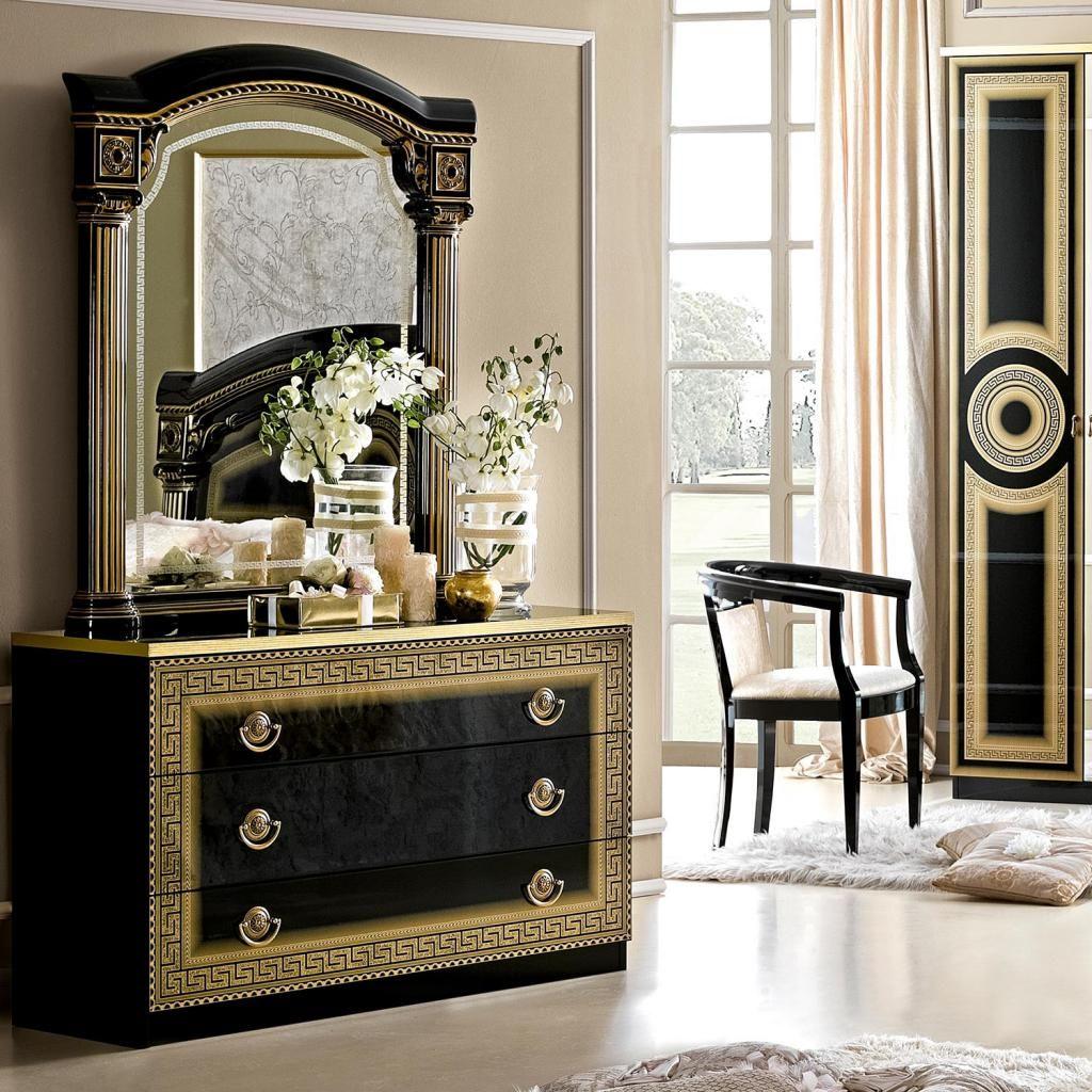 Beskrajne Mudrosti Pinterest Versace Furniture Gold Furniture Italian Bedroom Furniture