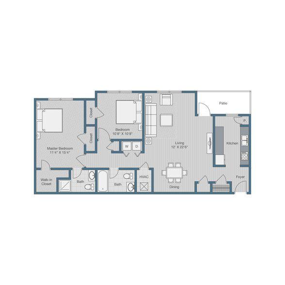 Apartments In Mechanicsville Va: 3 Schlafzimmer Apartments Richmond Va Brilliant Stilvolle