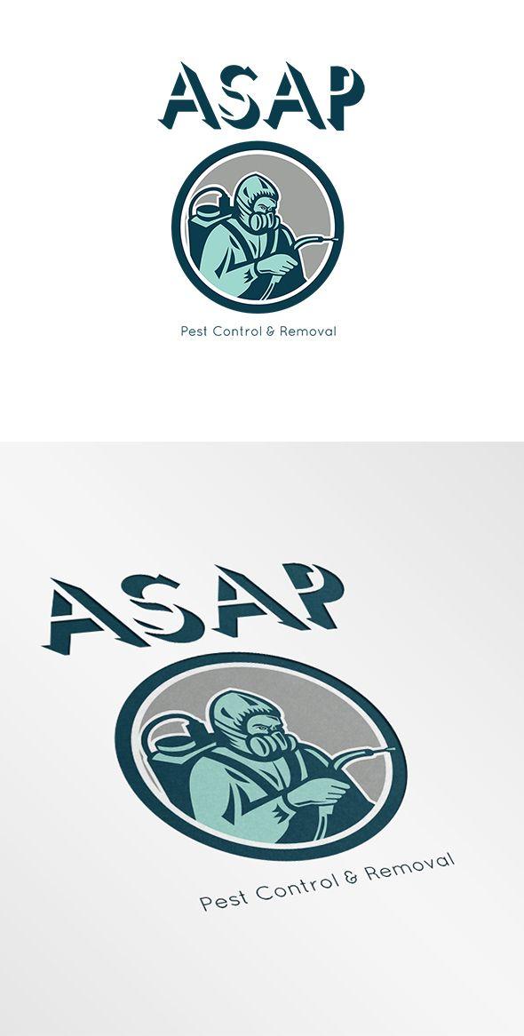pest control exterminator logo