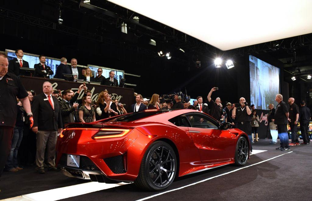 Acura NSX sets Barrett-Jackson auction record