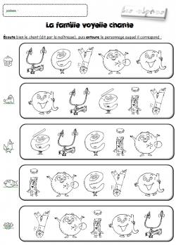 Gut gemocht Fiches exercice Alpha phono et écriture | Ief - planete des alphas  HR83