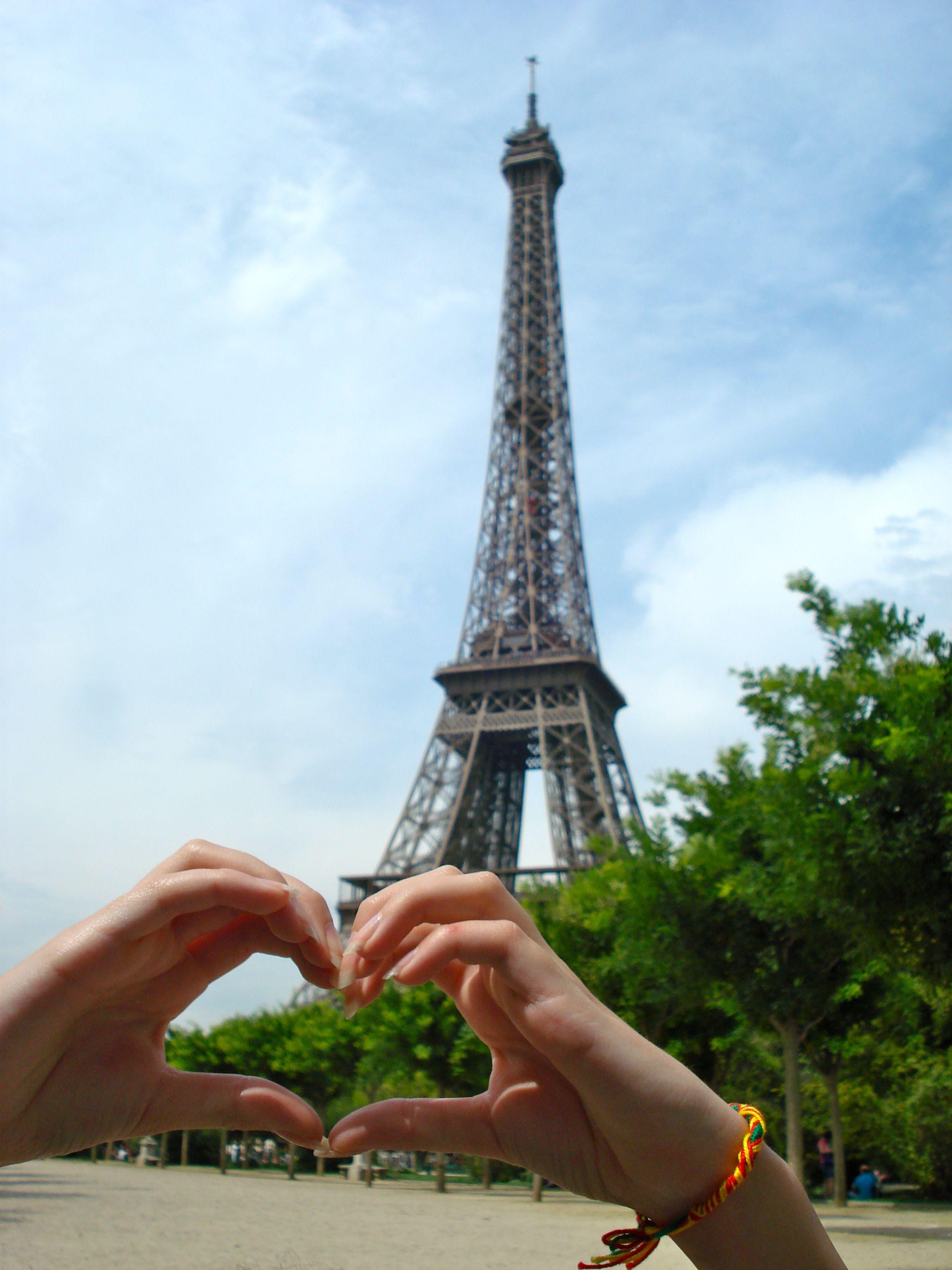She loves Paris