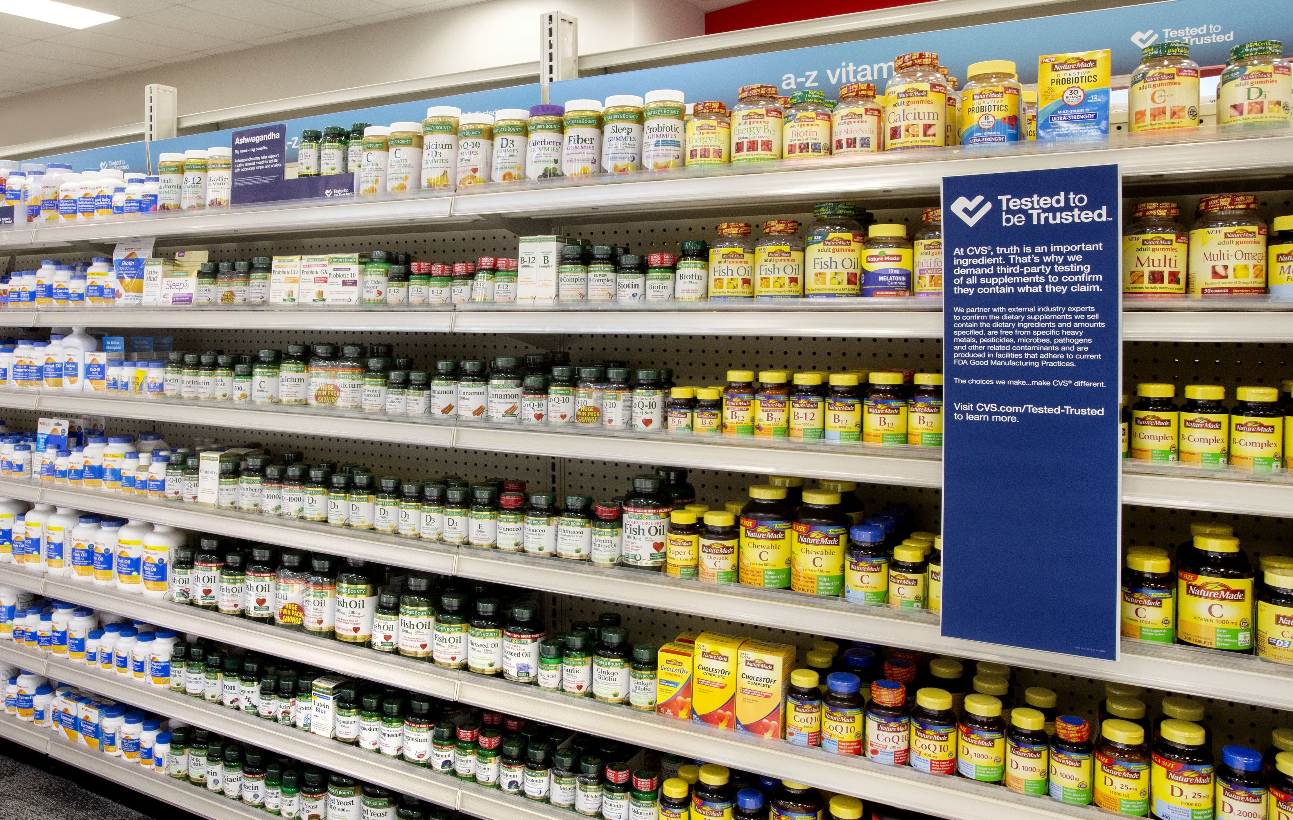 Cvs Will Only Sell Supplements That Have Been Third Party Tested For Safety Vitamin Supplements Digestion Aid All Vitamins