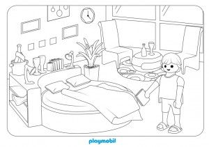 Novedades Villa De Lujo Playmobil Playmyplanet Blog Line Artwork Coloring Pages Coloring Pages For Kids
