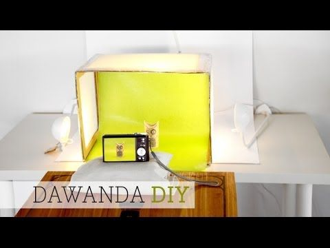 dawanda diy fotobox whitebox youtube blogger pinterest perfektes foto fotografie und. Black Bedroom Furniture Sets. Home Design Ideas