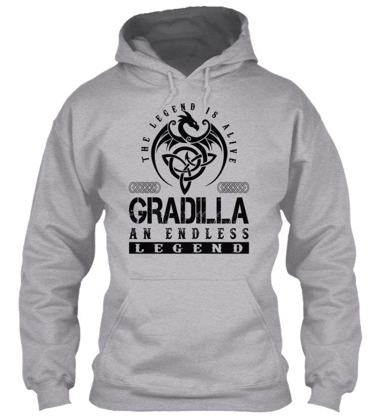GRADILLA - Legends Alive #Gradilla