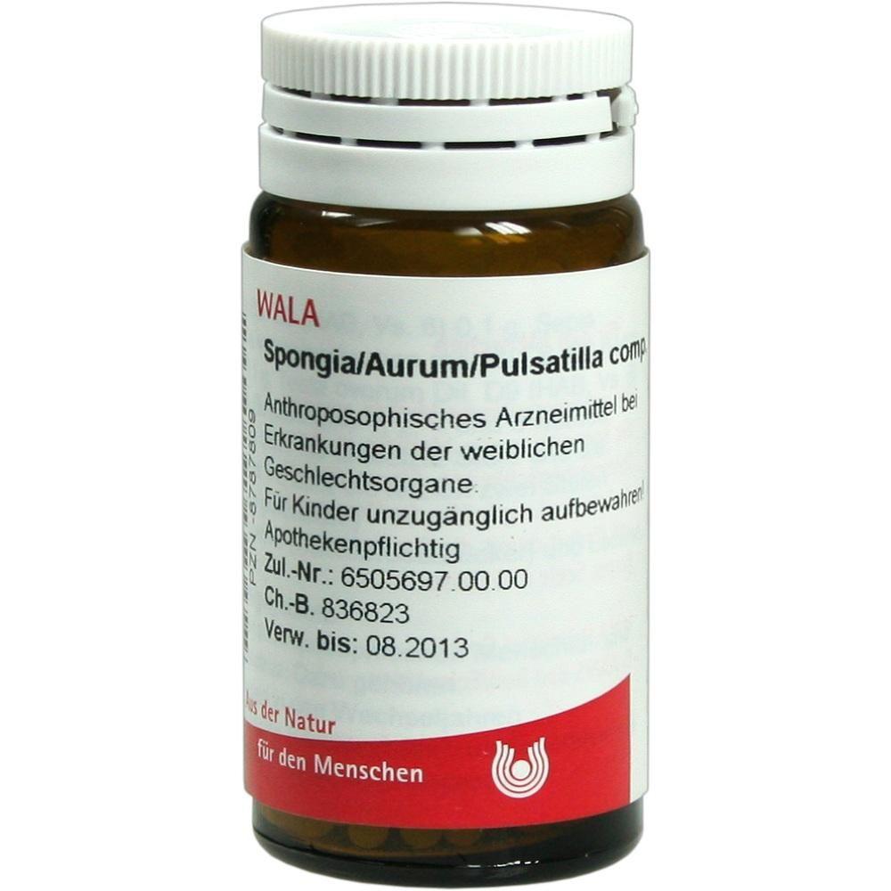 SPONGIA AURUM Pulsatilla p Globuli Packungsinhalt 20 g
