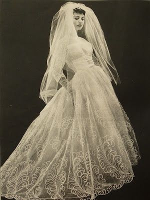 vintage 1960s | Ethereal Wedding Gowns | Pinterest | 1950s, Wedding ...