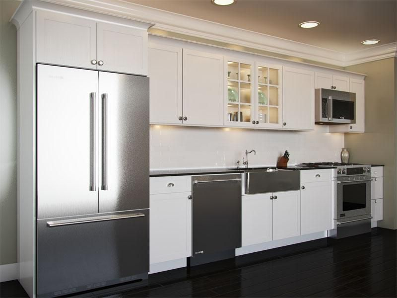 The One Wall Kitchen Layout House Of Kitchens Roseville With