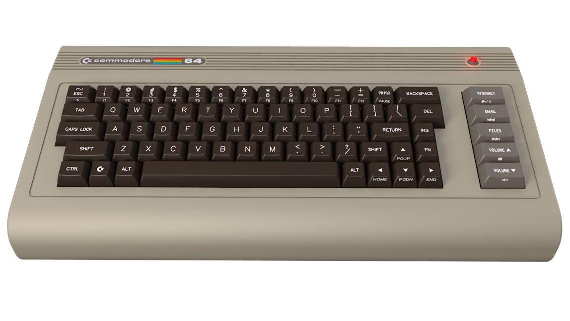 After the Vic 20 came this, the Commodore 64  This was my