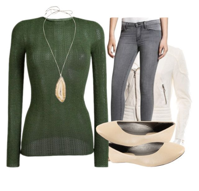 """""""Office Friday"""" by paixfish on Polyvore featuring rag & bone, J Brand and Gucci"""