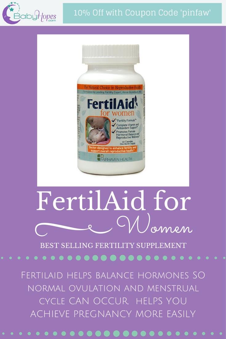 fertilaid for women | hormone imbalances - products | pinterest