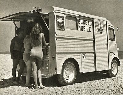 Citroen type h PTT Bureau Mobile