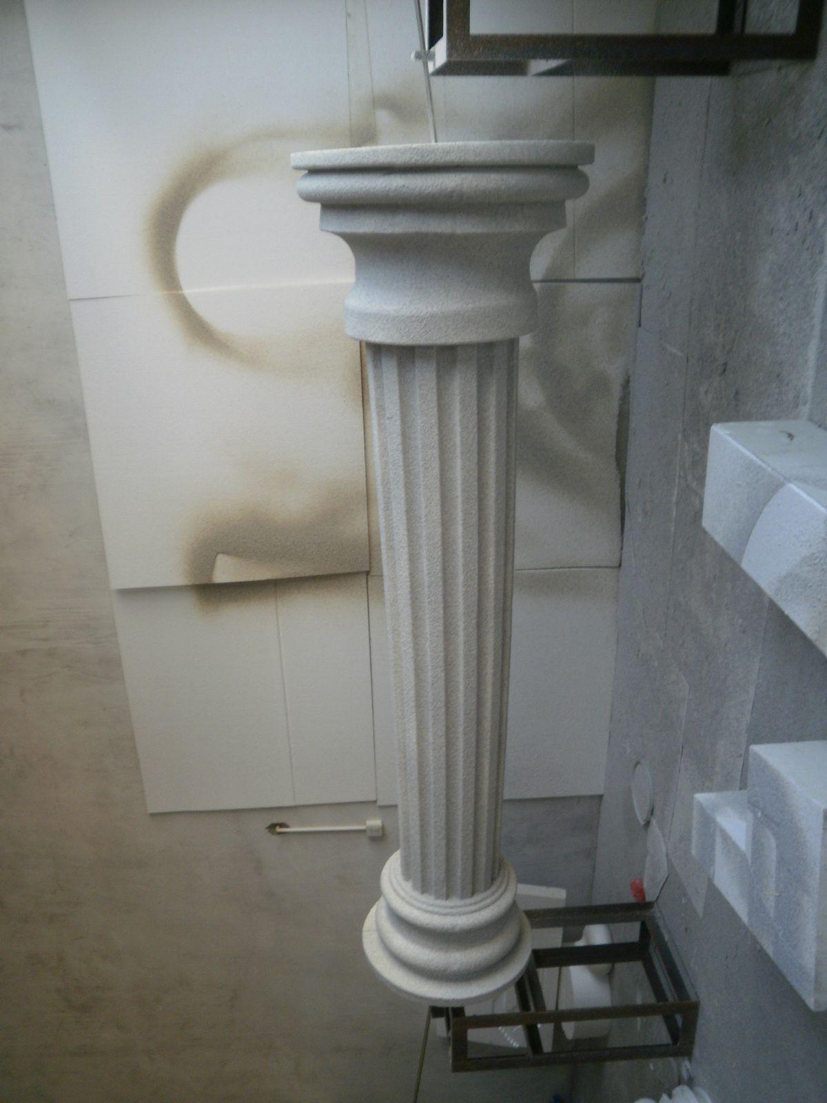 Wecutfoam Eps Architectural Column Foam Cutter Foam Church Stage Design