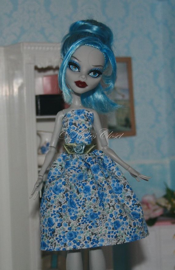 Dress for Monster High Dolls by KasiesCloset on Etsy
