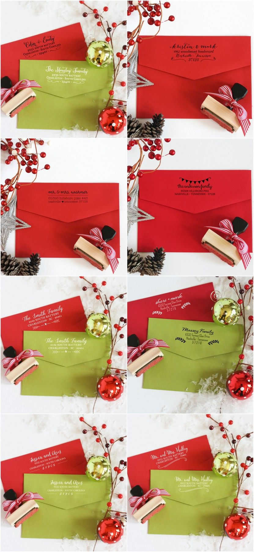 New Address Stamps (+ Giveaway | Wedding invitations | Pinterest ...