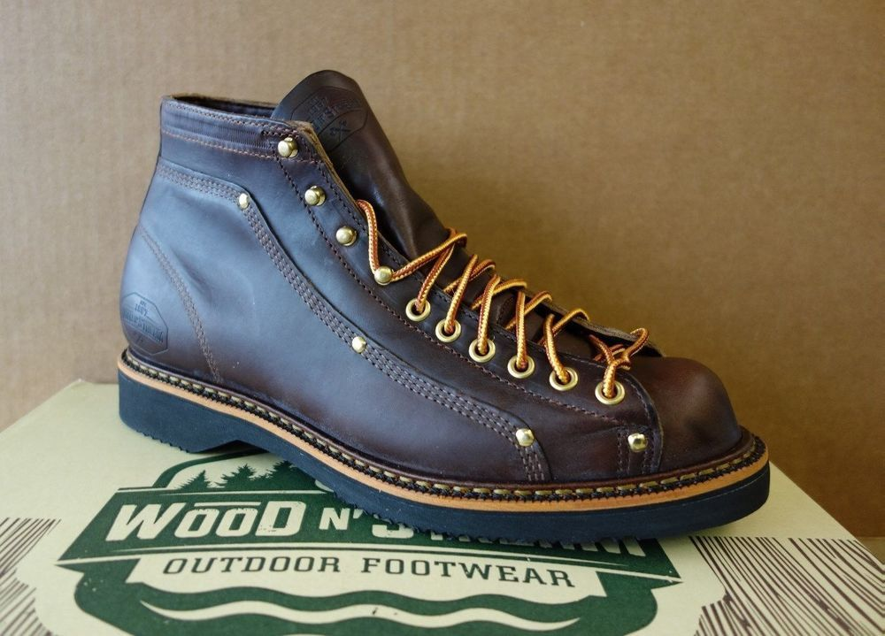 Wood N Stream Thorogood Lace To Toe Boots Made In Usa American Heritage Work Vtg Boots Work Boots Outfit Work Boots