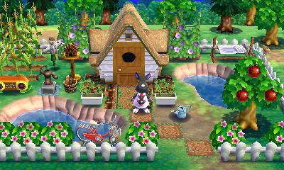 Animal Crossing Happy Home Designer Mathilda A Sustainable Space Visit In Game 0994 5759 385 Ani Happy Home Designer Animal Crossing Qr Animal Crossing