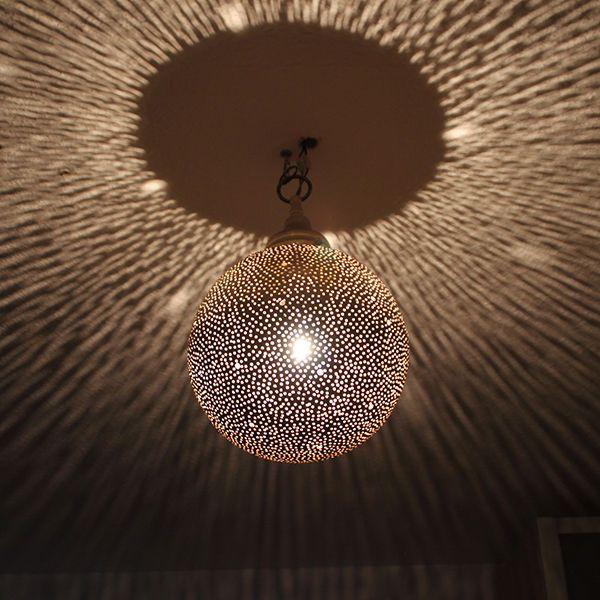 Orientalische Marokkanische Deckenlampe Hangelampe Lampe Messing Ca H35cm Hange Lampe Orientalische Lampen Deckenlampe