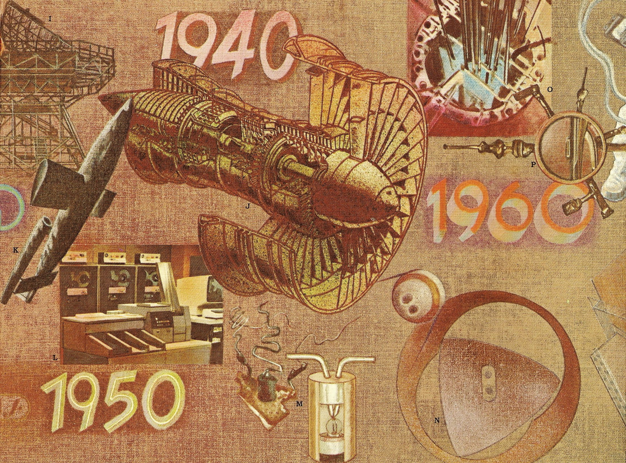 Brochure art for the Dolph Corporation Annual Report -1940-1960