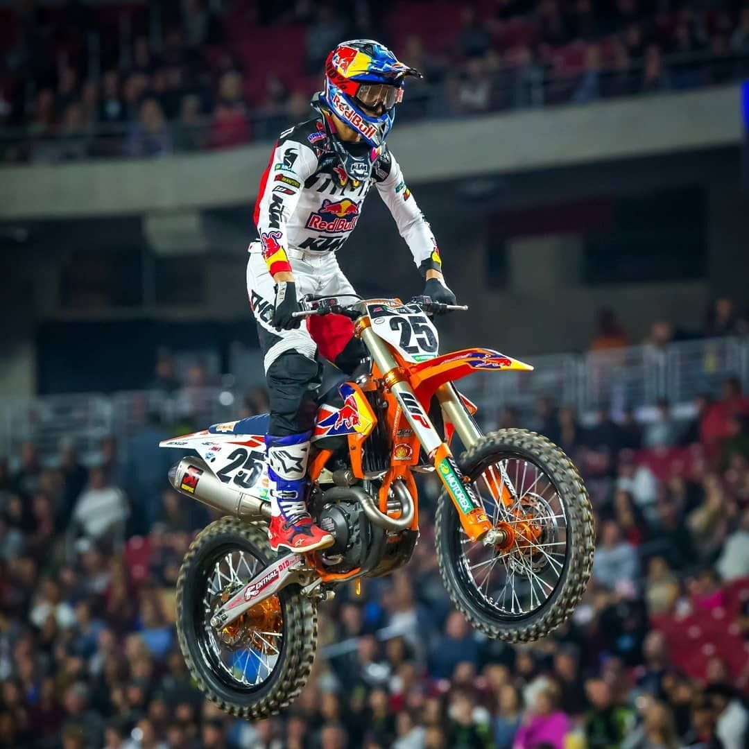 Top Five Finish For Marvinmusquin25 At Glendale Arizona Congratulations Also Go To Ktm Rider Blakebaggett4 O Enduro Motocross Motocross Racing Ama Motocross
