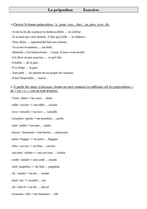 Image Result For Multi Level Front Steps: Image Result For Les Prepositions Exercices