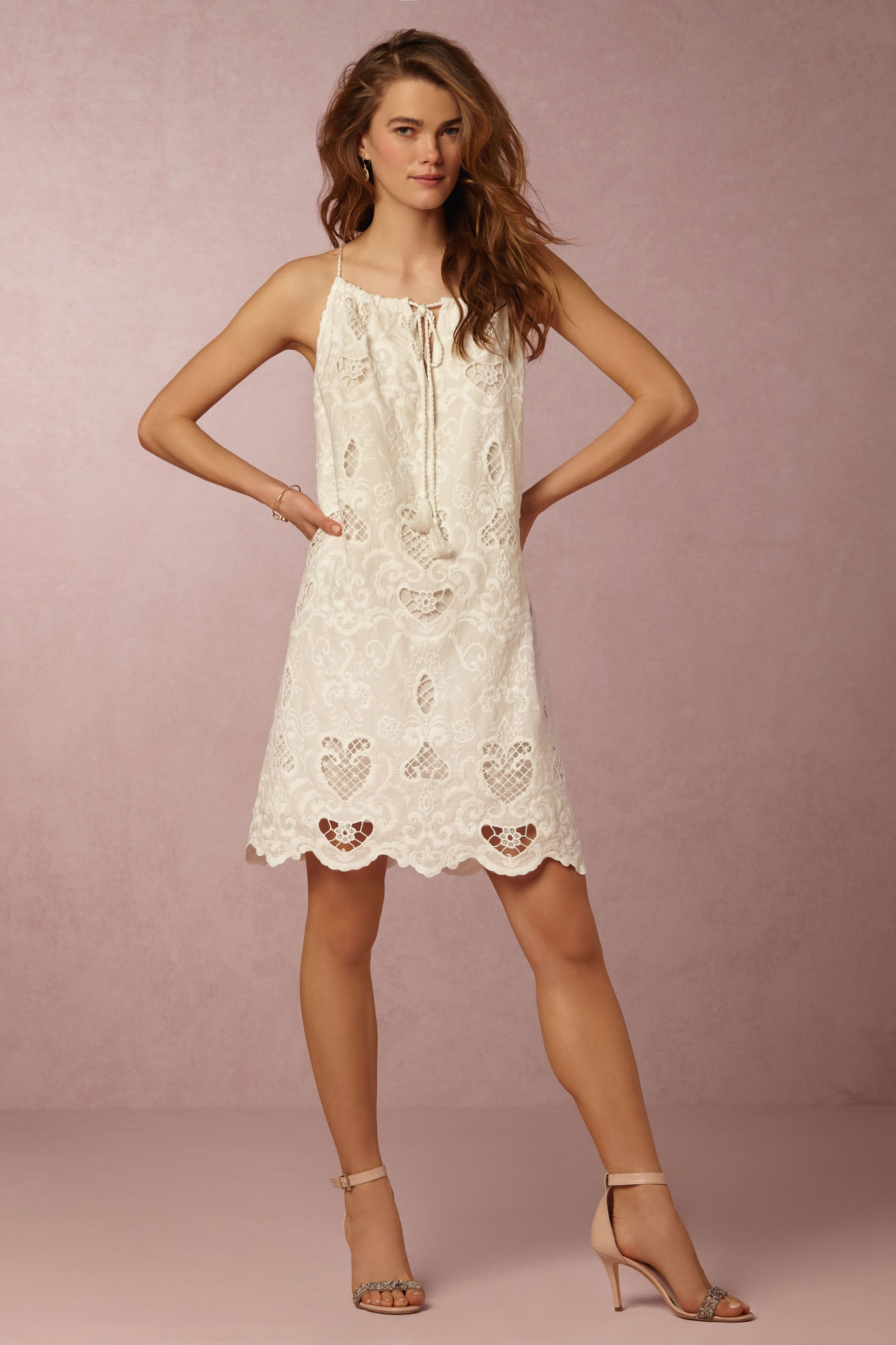 Love this for the day after weure married mya swing dress from