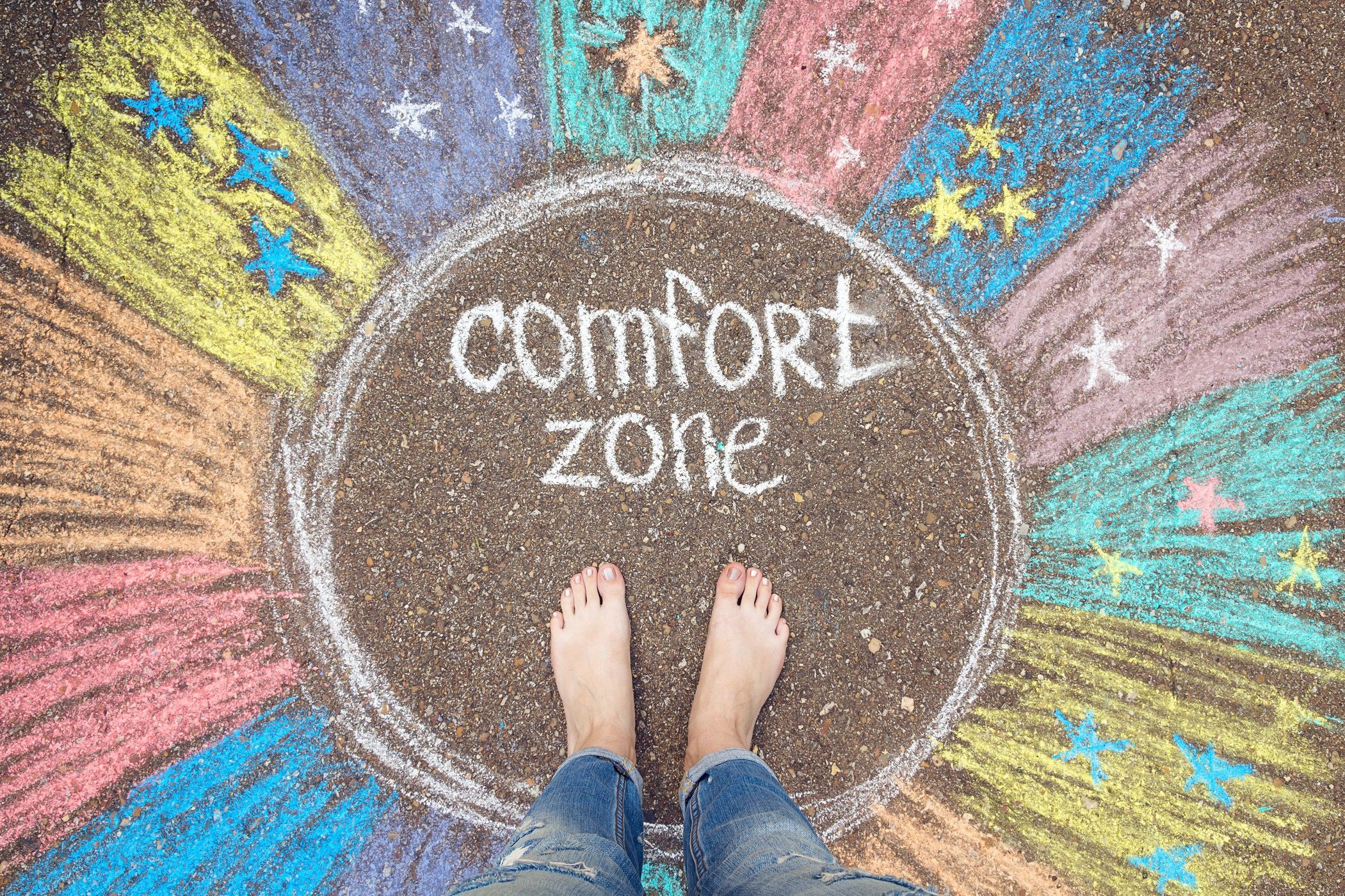 Out Of The Comfort Zone Comfort Zone Lack Of Confidence