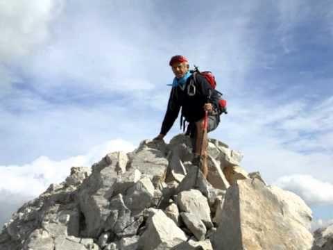 Miguel el Montañeru en Peña Vieja 2619m