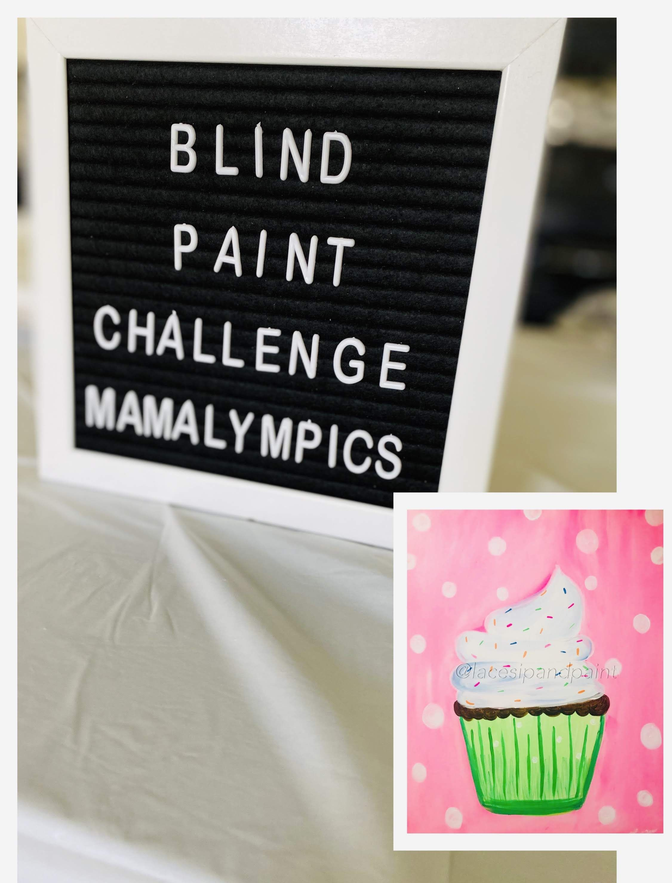 Blind paint challenge at home game ideas in 2020