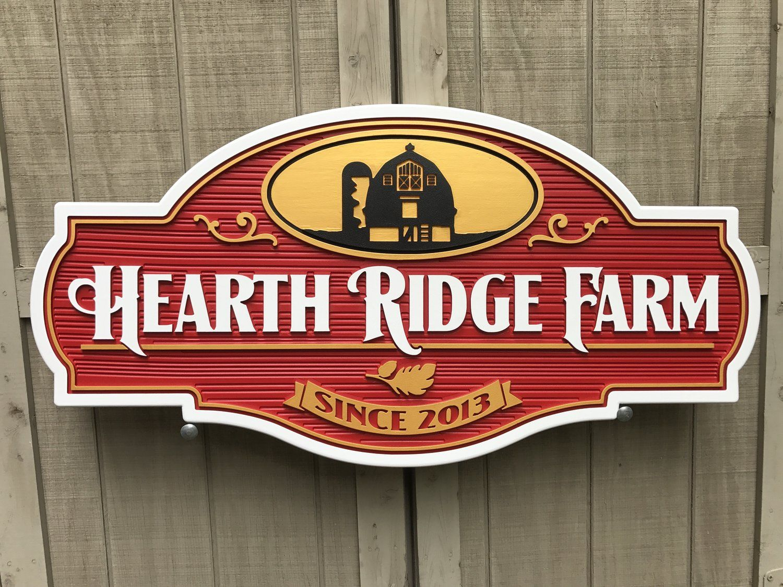 Farm Hearth Ridge Jpg Dizajn Vyvesok Derevyannye Tablichki Stena Dizajn