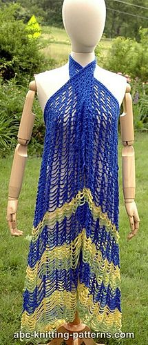 Hawaii Beach Cover Up Pattern By Elaine Phillips Crochet Dress Pattern Crochet Dress Crochet Skirt Pattern