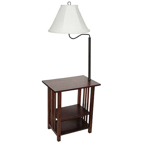 Great Better Homes And Gardens 3 Rack End Table Floor Lamp, CFL Bulb Included    Walmart.com