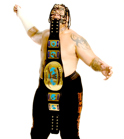Wwe Intercontinental Champion Umaga Wwe Professional Wrestling Pro Wrestling