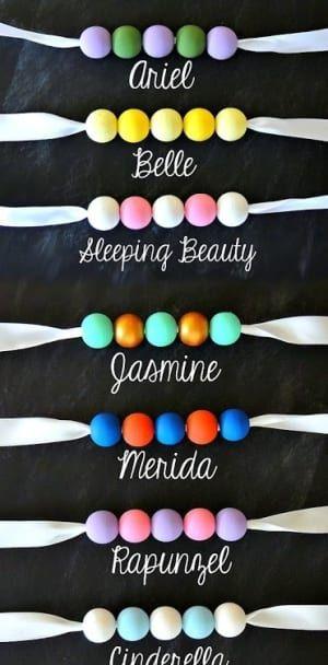 Craft up this magical Disney princess necklace.