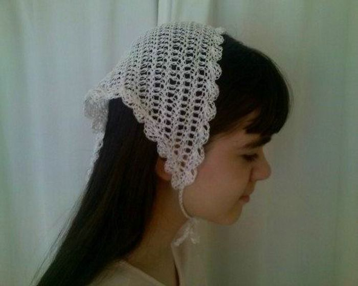 Related To Lovely Crochet Head Scarf Patterns Styles Stylish Crochet